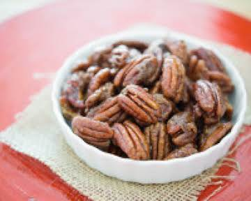 Stovetop Candied Pecans