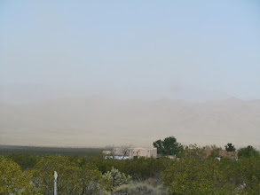 Photo: Dust everywhere