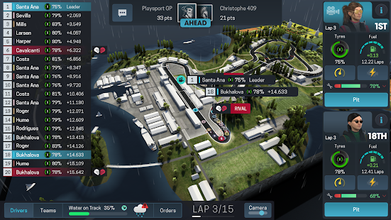 Motorsport Manager Online Screenshot