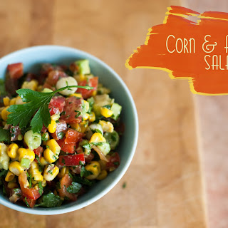 Corn & Avocado Salad