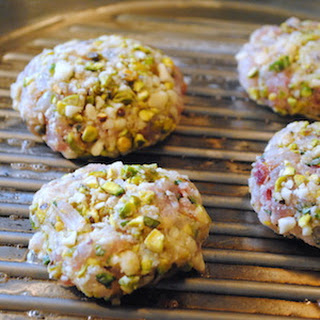 Rockfish Burgers with a Pistachio-Macadamia Crust