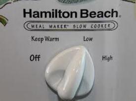 - set crock pot/slow cooker on low or med