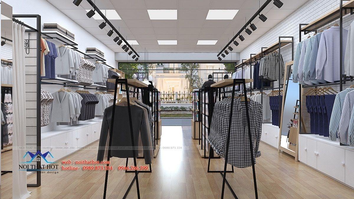 thiết kế shop thời trang uniqlo 10