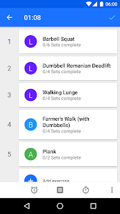 Progression Fitness Tracker Screenshot