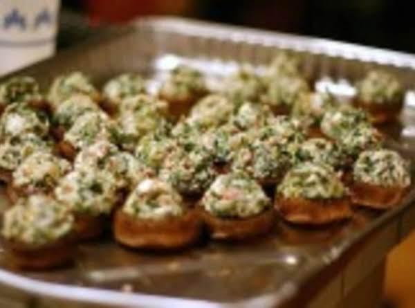 Smorgasbord Of 'shrooms Cream Spinach Dreams Recipe