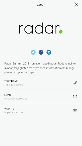 Radar Summit 2015
