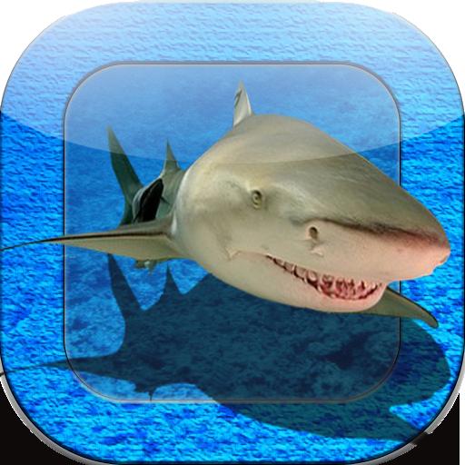 3D 상어 탱크 個人化 App LOGO-硬是要APP