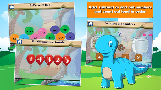 Dino 1st Grade Learning Games screenshots 7