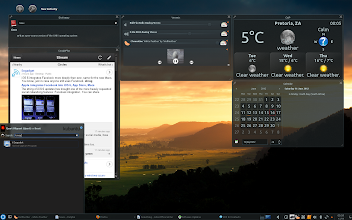 Photo: Kde 4.8 Using produkt and Active layout
