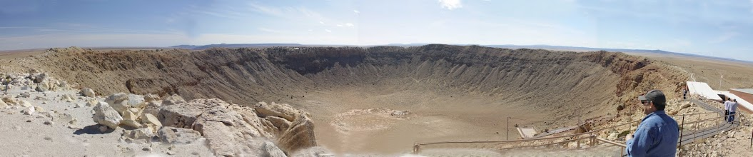 Photo: Meteor Crater in Arizonia