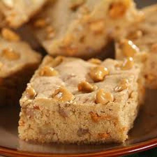 Splenda Butterscotch Brownies Recipe