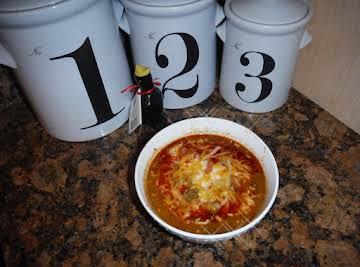 My own French Pork/Chorizo Soup/Stew