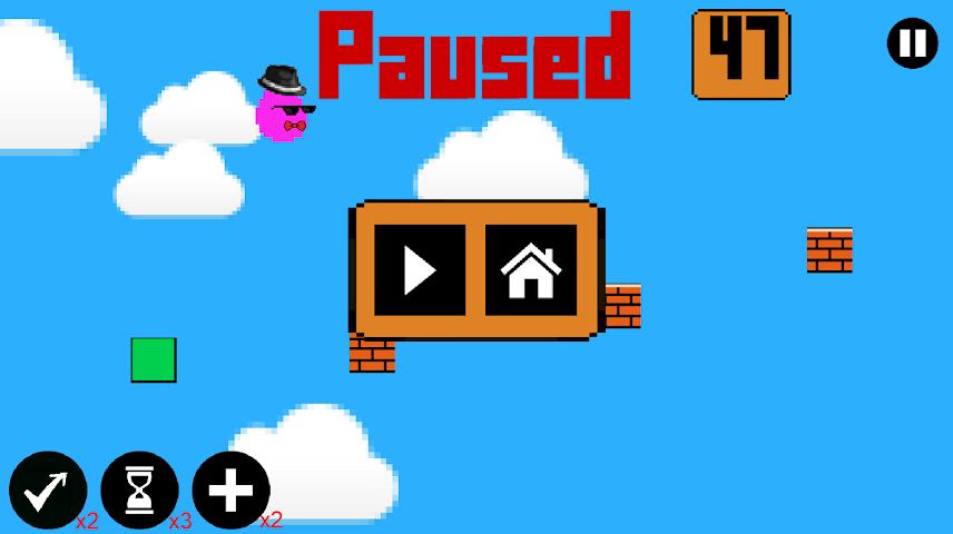 android Bouncy Blob! Screenshot 2
