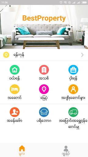 Best Property ud83cudfe1  Myanmar Buy, Rent & Sell 1.4.0 screenshots 1