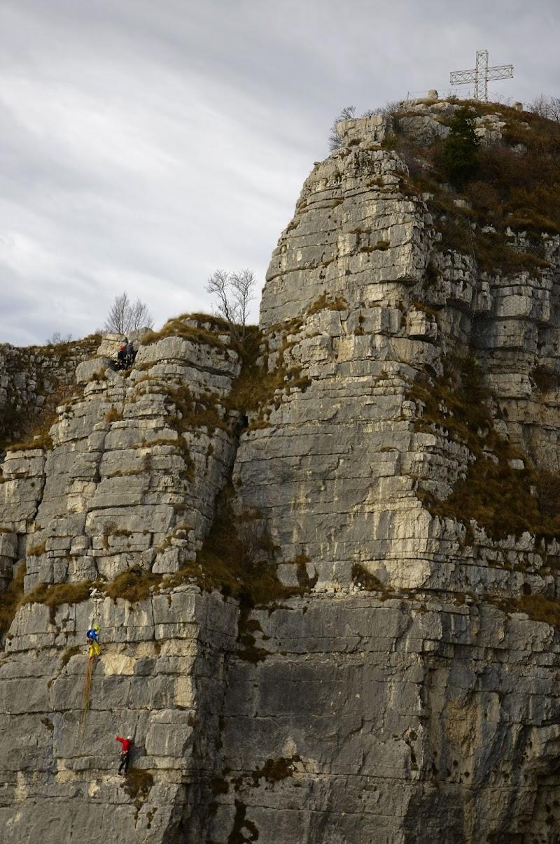 L'imponenza della roccia di Baffojack