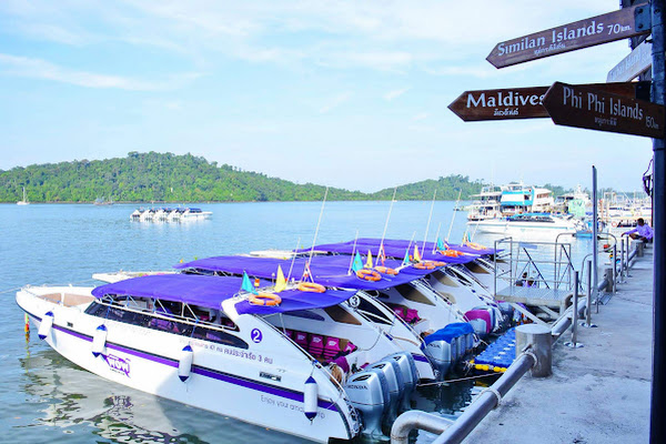 Depart from Wow Andaman Pier in Khao Lak