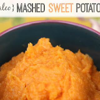 Paleo Mashed Sweet Potatoes.