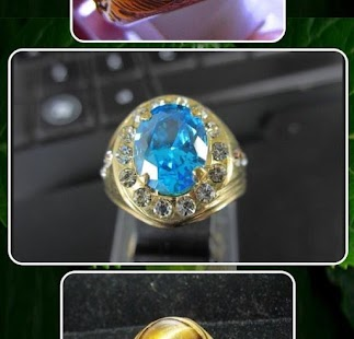 drahokam prsteny - náhled