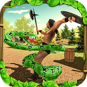 Wild Anaconda Snake Forest Attack Simulator icon