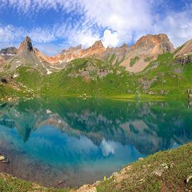 Alpine Blues by Ken Smith - Landscapes Mountains & Hills ( mountains, colorado, landscape, ice lakes )