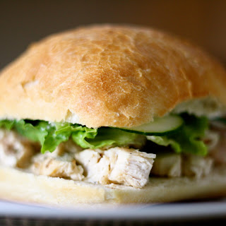 """Greek"" Chicken Sandwich"