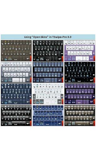 TSwipe Pro keyboard screenshot 6