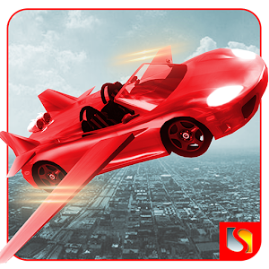 Flying Car Racing Simulator 3D for PC and MAC