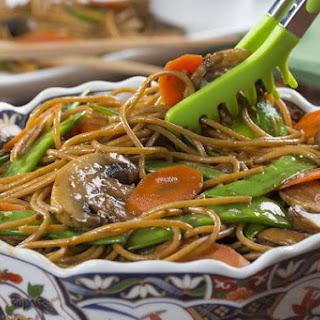 Easy Lo Mein Noodles.