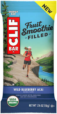 Clif Bar Fruit Smoothie Filled Bars: Wild Blueberry Acai, Box of 12 alternate image 2