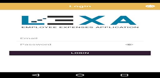 LEXA (Employee Expence Application).