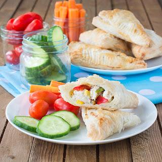 Easy Chicken & Vegetable Pasties.
