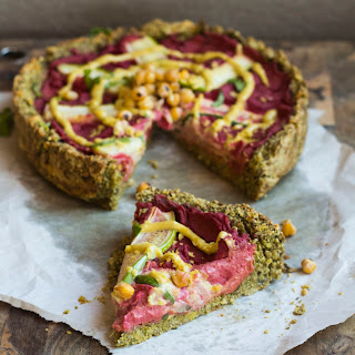 Deep Dish Falafel Pizza (revised)