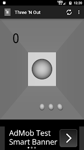 Three 'N Out Pong- screenshot thumbnail