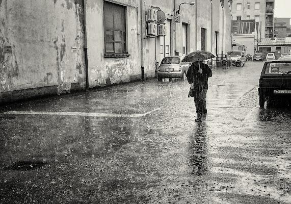 Gocce di pioggia su di me di Paolo Zanoni