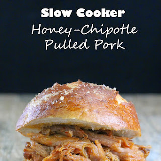 Slow Cooker Honey-Chipotle Pulled Pork.