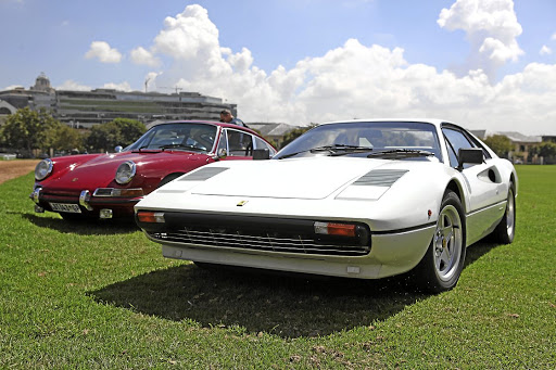 Vintage models will share the grounds with more modern classics like the Porsche 911 and Ferrari 308 GTB. Picture: MOTORPRESS