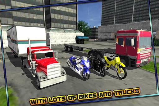 無料模拟Appのバイク輸送ビッグトラック|記事Game