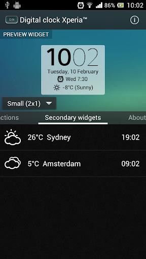 Digital Clock Widget Xperia - Apps on Google Play