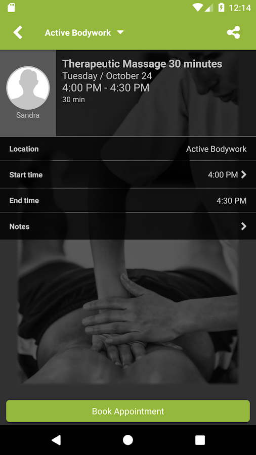 Active Bodywork- screenshot