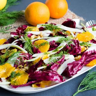 Radicchio Fennel Orange Salad Recipes