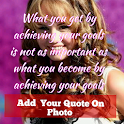 quotes on my pic & quotes app 2019 icon