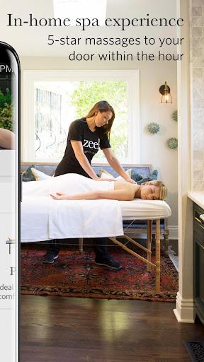 Zeel In-Home Massage Therapist screenshots 2