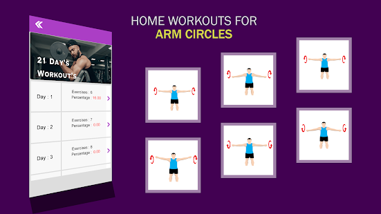Home Workouts : GYM Body building 13