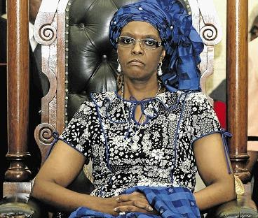 Grace Mugabe. File photo