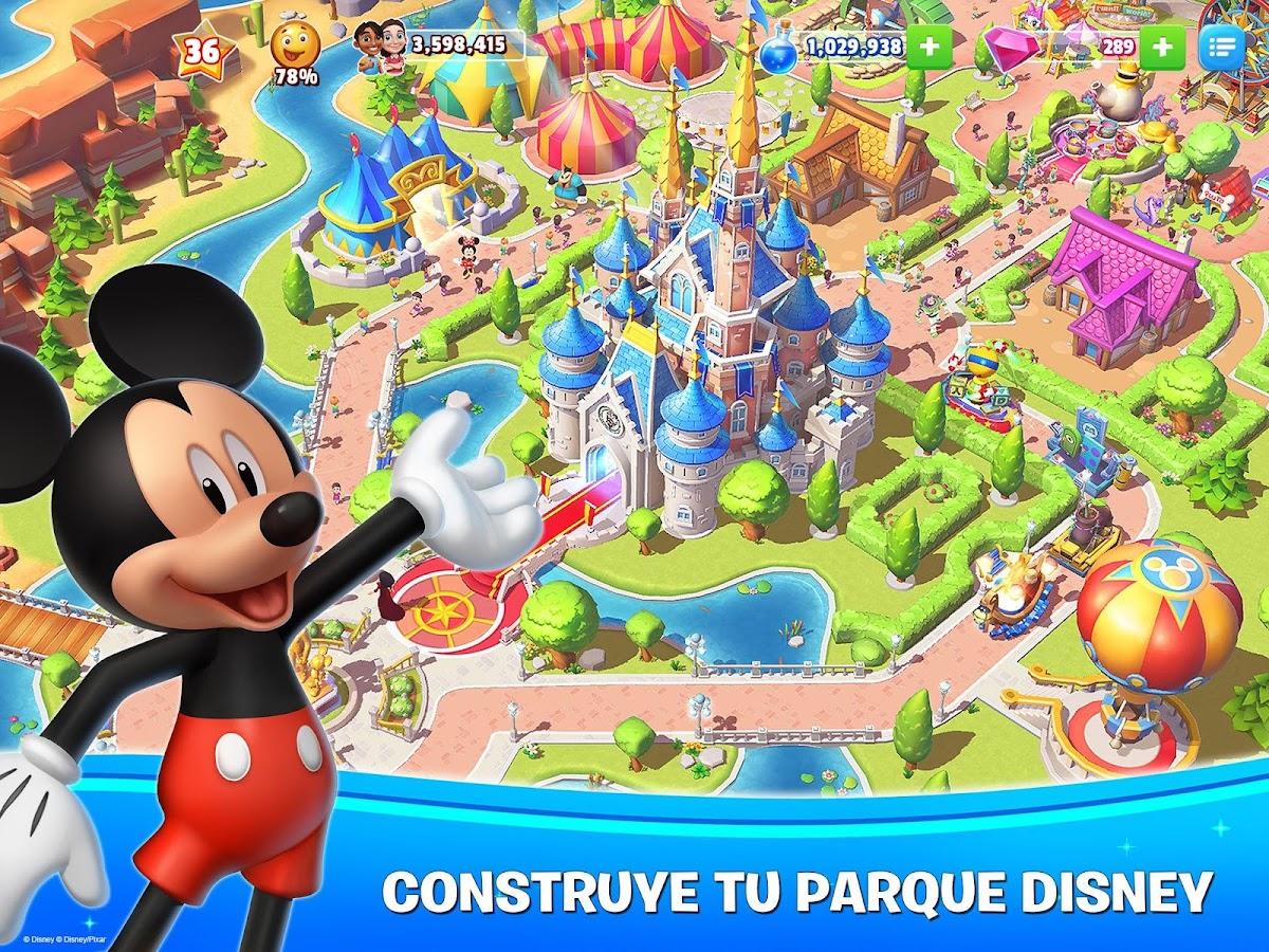 Disney magic kingdoms crea tu parque m gico for Crea tu mural disney