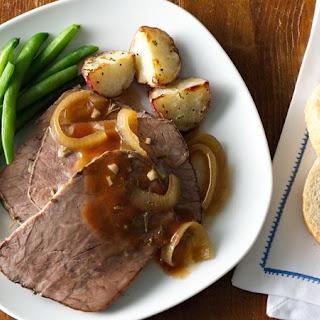 Slow-Cooker Rosemary-Garlic Beef Roast.
