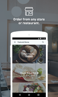 Postmates: Food Delivery, Fast screenshot 01