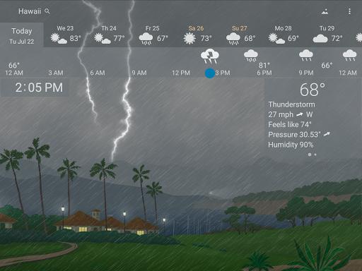 Awesome Weather - YoWindow screenshot 18