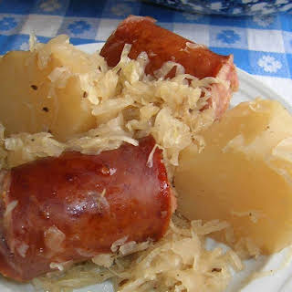 Sausage Sauerkraut Potatoes Recipes.