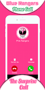 Phone Call From Pink Rangers - náhled